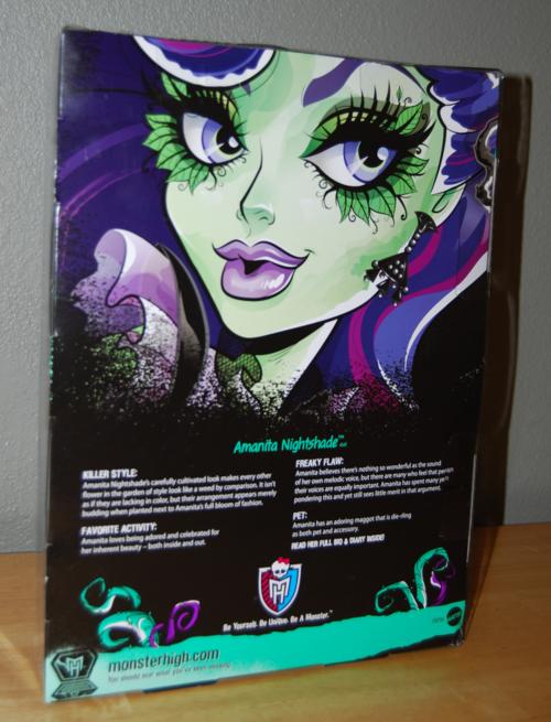 Monster high amanita nightshade doll x