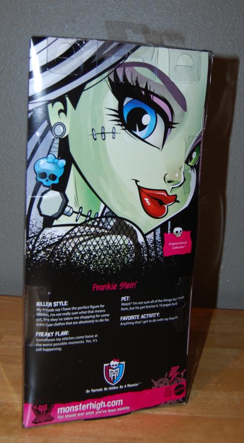 Monster high frankie stein doll 1