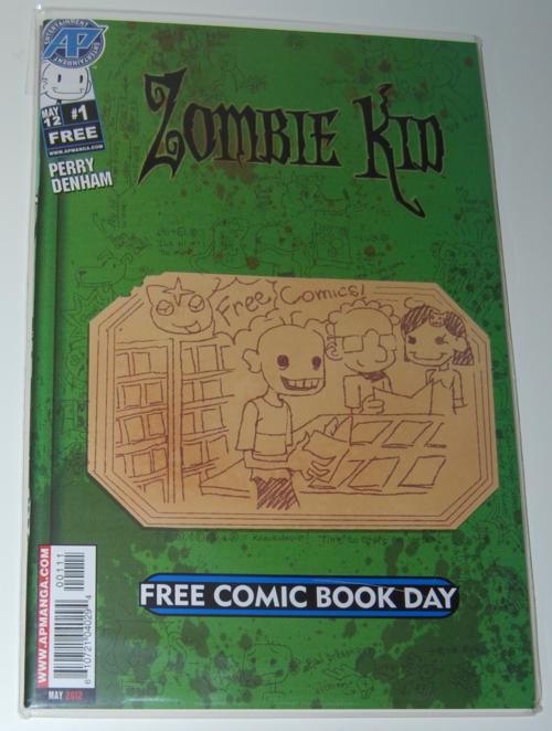 Zombie kid comic