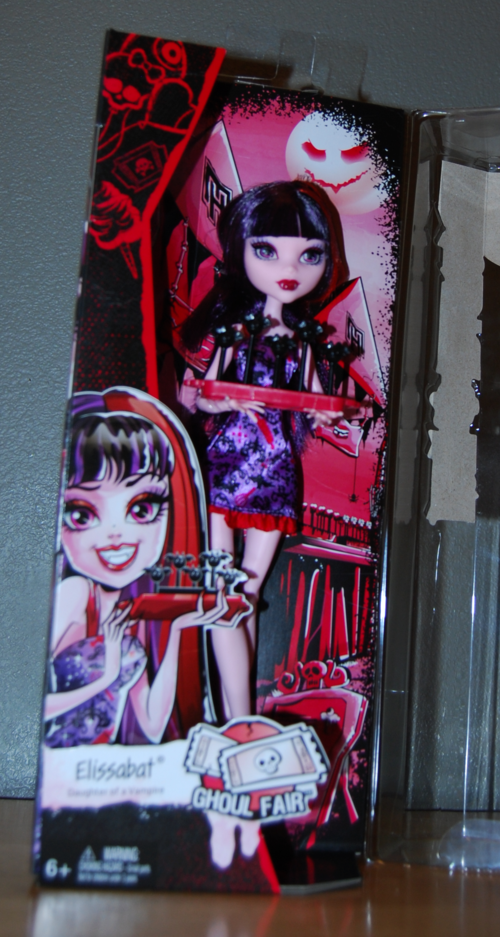 Monster high doll elissabat 1