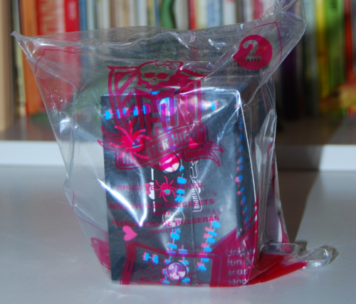 Monster high happy meal toys 2015 2