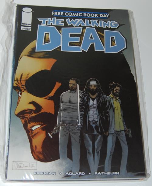 Walking dead fcbd comic
