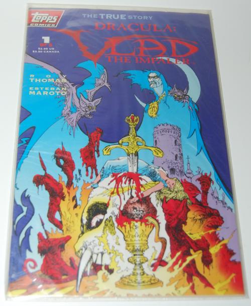 Vlad the impaler comic