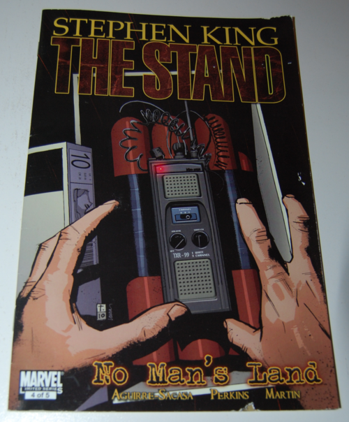 Stephen king comic the stand 1