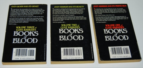 Clive barker books of blood 2