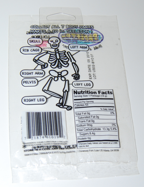 Skeleton pops 6