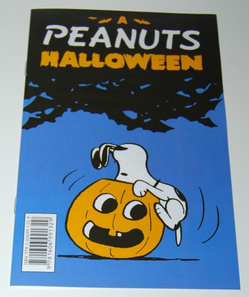 Peanuts halloween comic