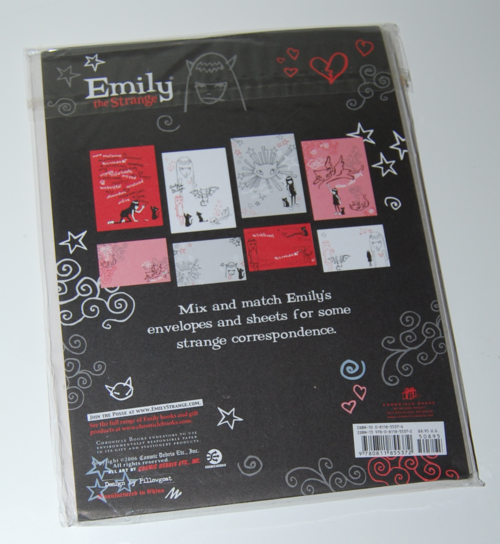 Emily strange stamps of disapproval set 8