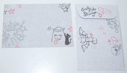 Emily strange stamps of disapproval set 16
