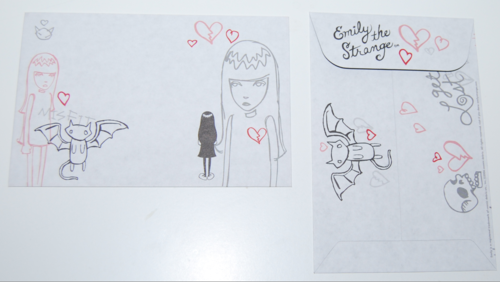 Emily strange stamps of disapproval set 18