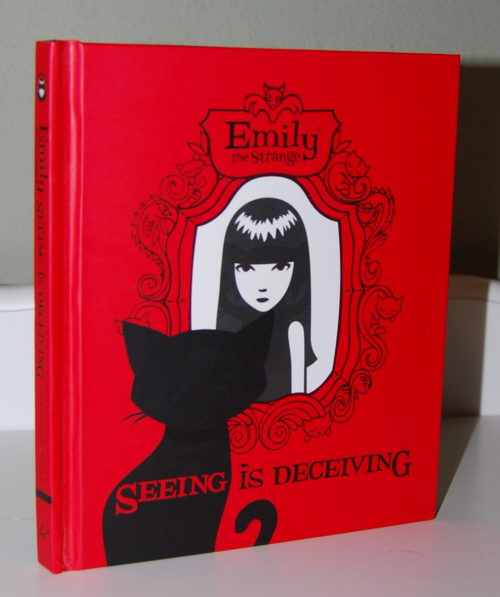 Emily the strange seeing is deceiving book