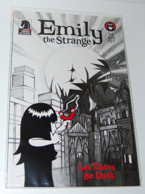 Emily the strange comic book 3