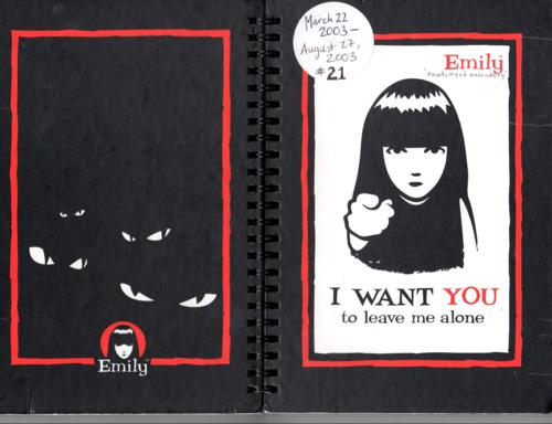 Emily strange journals 1