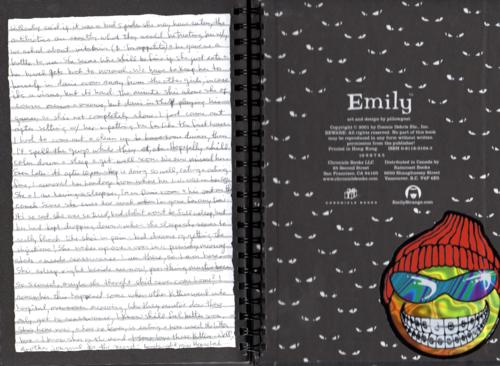 Emily strange journals 1x