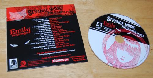 Emily strange strange music for strange people cd x