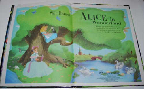 Alice in wonderland big golden book 2