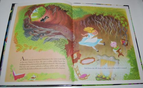 Alice in wonderland big golden book 3