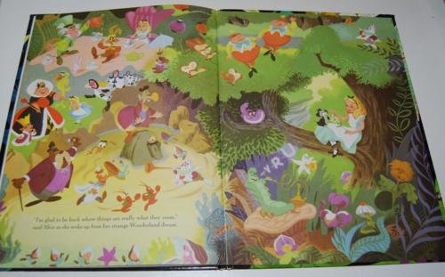 Alice in wonderland big golden book 6