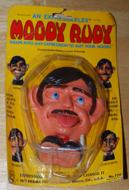 Moody rudy toy