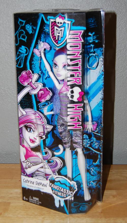 Monster high doll catrine demew 1