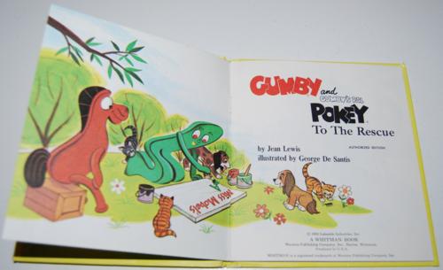 Gumby & pokey to the rescue whitman book 2