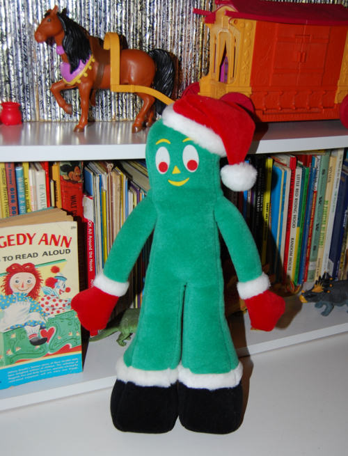 Gumby christmas plush