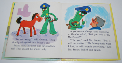 Gumby & pokey whitman book 4