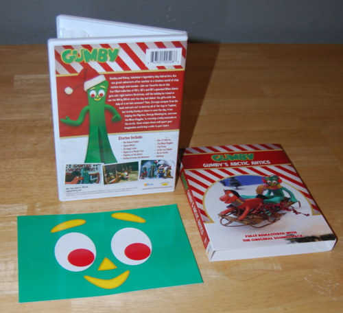 Gumby arctic antics dvd 3