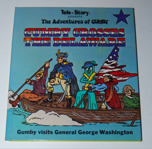 Gumby telestory book gumby crosses the delaware