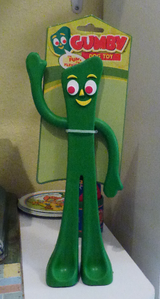 Gumby dog toy main