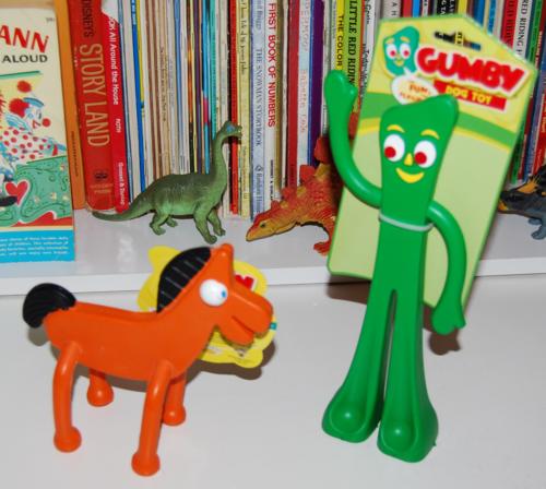 Gumby & pokey dog toys
