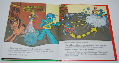 Gumby telestory book gumby son of liberty 6