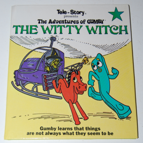 Gumby telestory book the witty witch
