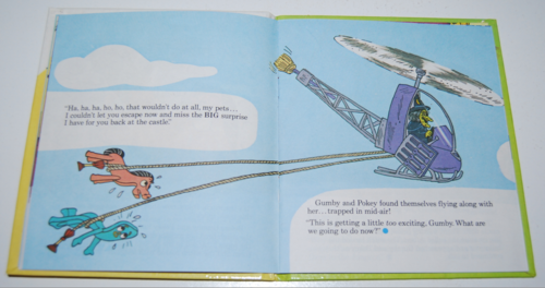 Gumby telestory book the witty witch 4