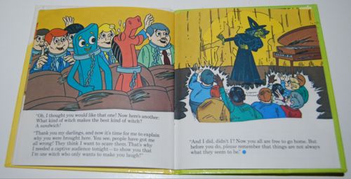 Gumby telestory book the witty witch 9