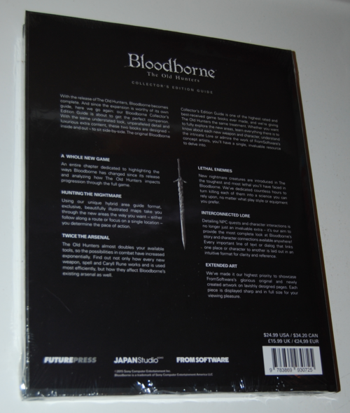 Bloodborne old hunters guide x