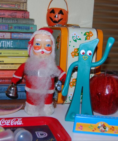 Vintage santa toy 5