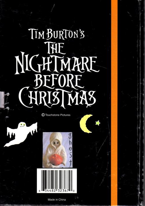 Nightmare before christmas journal 2