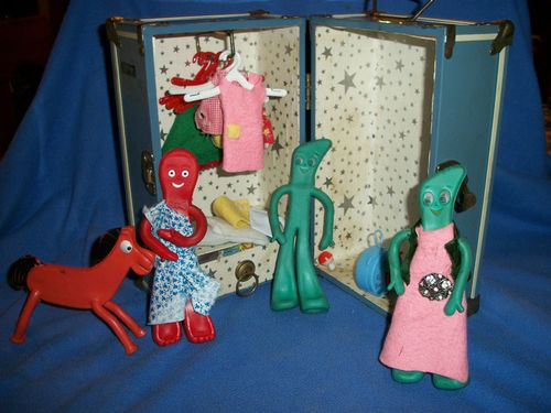 Gumby & papco toy