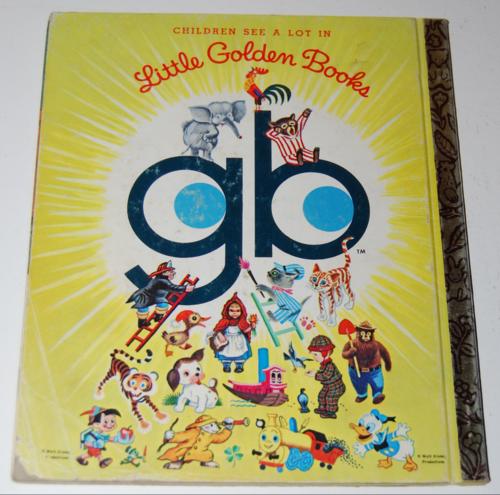 Little golden book bedknobs & broomsticks x