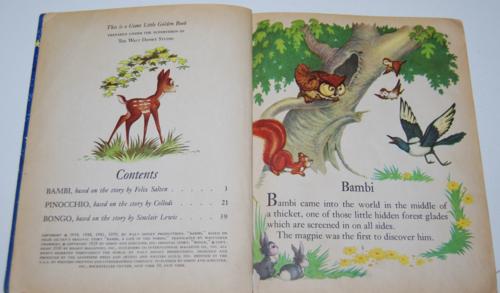 Walt disney storytime giant little golden book 2