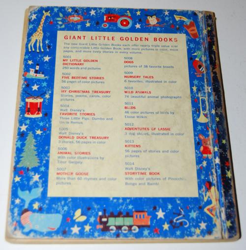 Walt disney storytime giant little golden book x