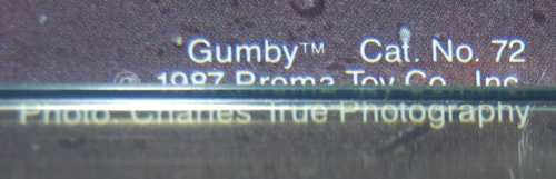 Gumby poster 1x