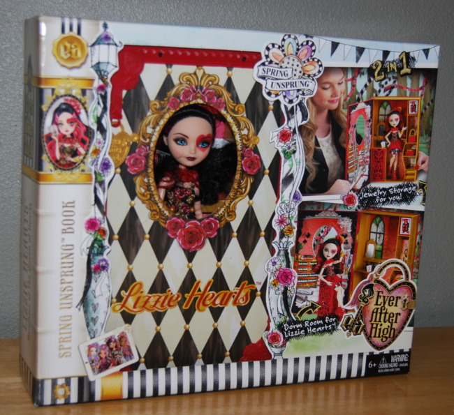 ever after high doll ~ lizzie hearts