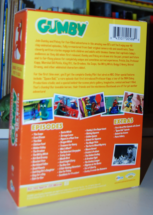 Gumby the 60s dvd set volume 1 3