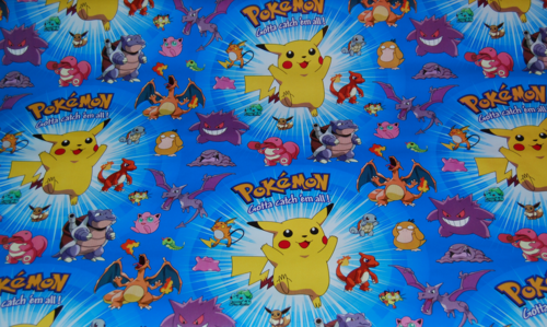 Pokemon wrapping paper 3