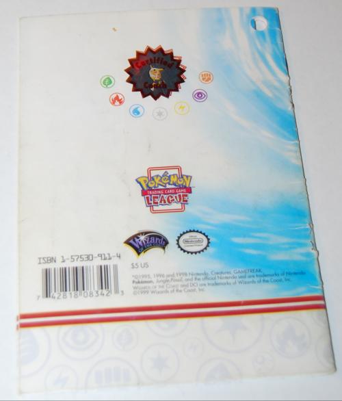 Pokemon league badge book x