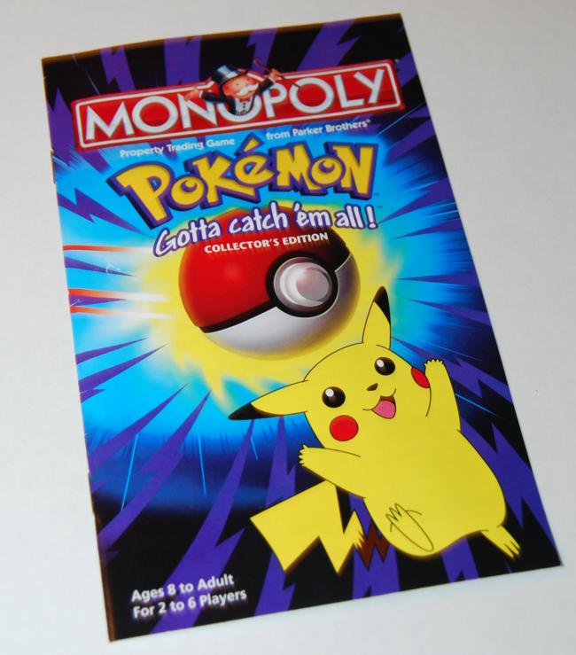 pokemon anniversary ~ monopoly
