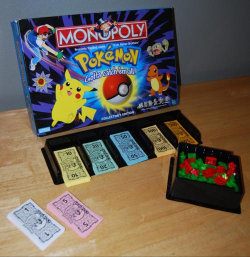 Pokemon monopoly 5