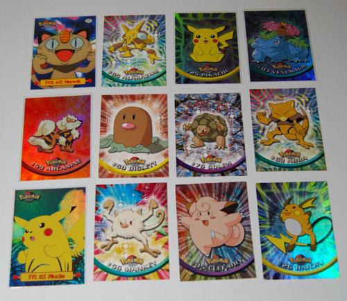 Pokemon cards topps 1